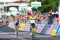Oscar Gatto précède un inattendu Alberto Contador à Tropea