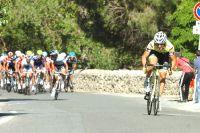 Oscar Gatto met le feu aux poudres, Alberto Contador contre-attaque