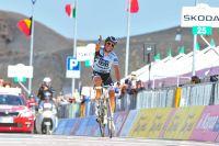 Alberto Contador a flingué tout le monde sur l'Etna