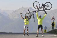 Arriver au sommet d'un col est toujours une victoire pour un cyclosportif
