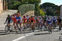 Le peloton du Tour du Haut Var 2011