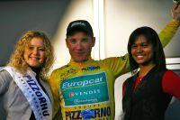 A Thomas Voeckler le maillot mimosa de vainqueur du Tour du Haut Var 2011