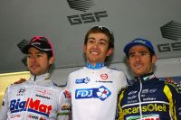 Le podium du GP La Marseillaise