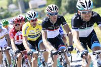 Frank Schleck épaule Fabian Cancellara au Tour de Luxembourg