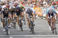 Davide Appollonio ajuste le sprint
