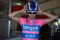 Manuele Mori dévoile le nouveau maillot de la Lampre-ISD