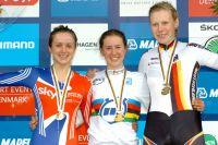 Elinor Barker, Jessica Allen et Mieke Kröger, un podium logique