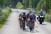 Après le Sillon de Bretagne, on ne retrouve plus que 14 coureurs en tête