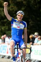 Mathieu Cloarec heureux de sa troisième place et de la victoire de Ludovic Bret