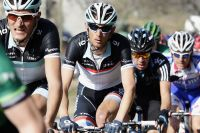 Frank Schleck dans les starting-blocks