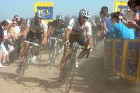 Dans la roue de Thor Hushovd, Fabian Cancellara refuse d'assumer le poids de la course