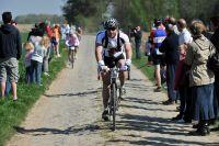 Les spectateurs sont présent pour encourager les cyclosportifs
