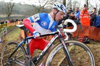 Le champion de France de cyclo-cross Francis Mourey