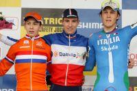 Matthieu Boulo trône sur le podium de la manche de Coupe du Monde de Pontchâteau