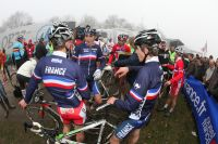 L'équipe de France Juniors