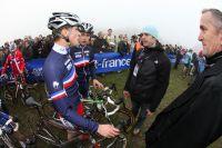 Pierre-Yves Châtelon au contact de l'équipe de France Juniors