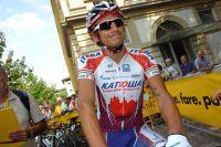 Filippo Pozzato au départ