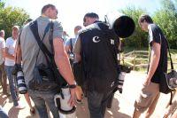 Les photographes sont nombreux pour couvrir l'évènement