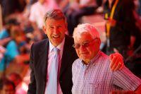 Philippe Devilliers et Raymond Poulidor