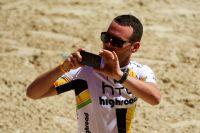 Mark Cavendish filme un moment magique : la présentation des équipes du Tour 2011