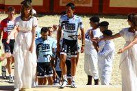 Alberto Contador leader incontesté de son équipe ouvre la marche