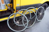 Les roues de secours sont prêtes