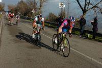 Damiano Cunego démarre en direction du succès d'étape