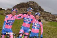 Scarponi, Petacchi, Cunego, le triumvirat de la Lampre-ISD