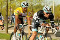Daniele Bennati prépare son sprint