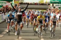 Michel Kreder grand vainqueur de la 2ème étape du Circuit de la Sarthe