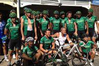 Dernier détour par Saint-François pour le Team Europcar