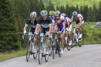 Andy Schleck se fait violence dans les Alpes suisses