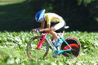 Tête basse, Damiano Cunego peine à rivaliser avec les meilleurs rouleurs