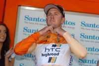 Matthew Goss est le premier leader du Tour Down Under 2011
