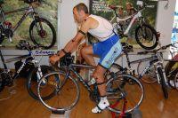 Test de l'étude posturale Vélo Fitting