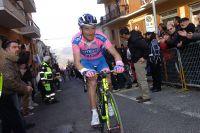 Michele Scarponi maintient une avance minime sur ses poursuivants durant toute l'ascension