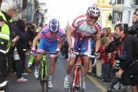 Danilo Di Luca rivalise avec Damiano Cunego