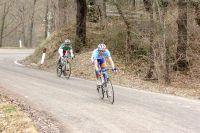 A quelques kilomètres du but, Robert Gesink et Giovanni Visconti lâchent prise