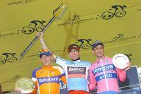 Le podium majestueux du 46ème Tirreno-Adriatico