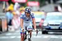 Jérémy Roy passe tout près d'une victoire d'étape à Lourdes