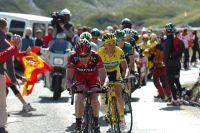 Cadel Evans réduit seul l'écart sur Andy Schleck dans le Col du Galibier