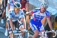 Alberto Contador perd, déjà, 1'20
