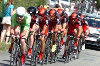 Cadel Evans emmène l'équipe BMC Racing Team