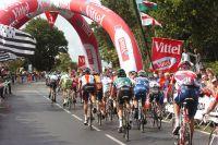 Le peloton du Tour de France en Bretagne