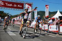 Victoire d'Edgardo Simon sur la première étape du Tour de Rio