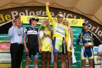 Le podium de ce Tour de Pologne