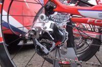 Le dérailleur arrière du Focus du Focus du Team Katusha