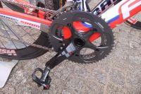 Le pédalier du Focus du Focus du Team Katusha