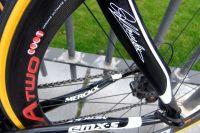 L'arrière du Merckx de la formation Topsport Vlaanderen-Mercator