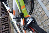 L'arrière du KTM de la formation Bretagne-Schuller